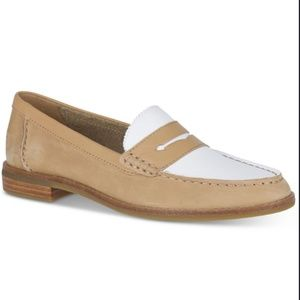 SPERRY Seaport Penny Memory Foam Loafers 7 NWT